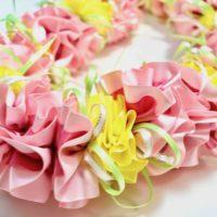 Hibiscus*色違いで作っても楽しいです。