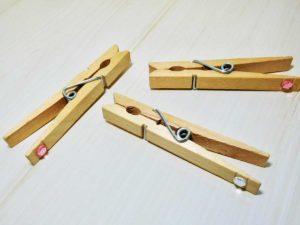 クロスピン(木製ピンチ)