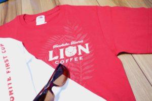 ライオンコーヒーTシャツ