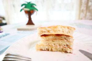 ハレクラニのパンケーキミックスで作ったパンケーキ