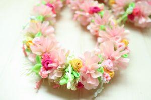 rainbowshowerandhawaiianflowers