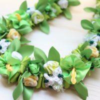 white-green-bouquet-lei