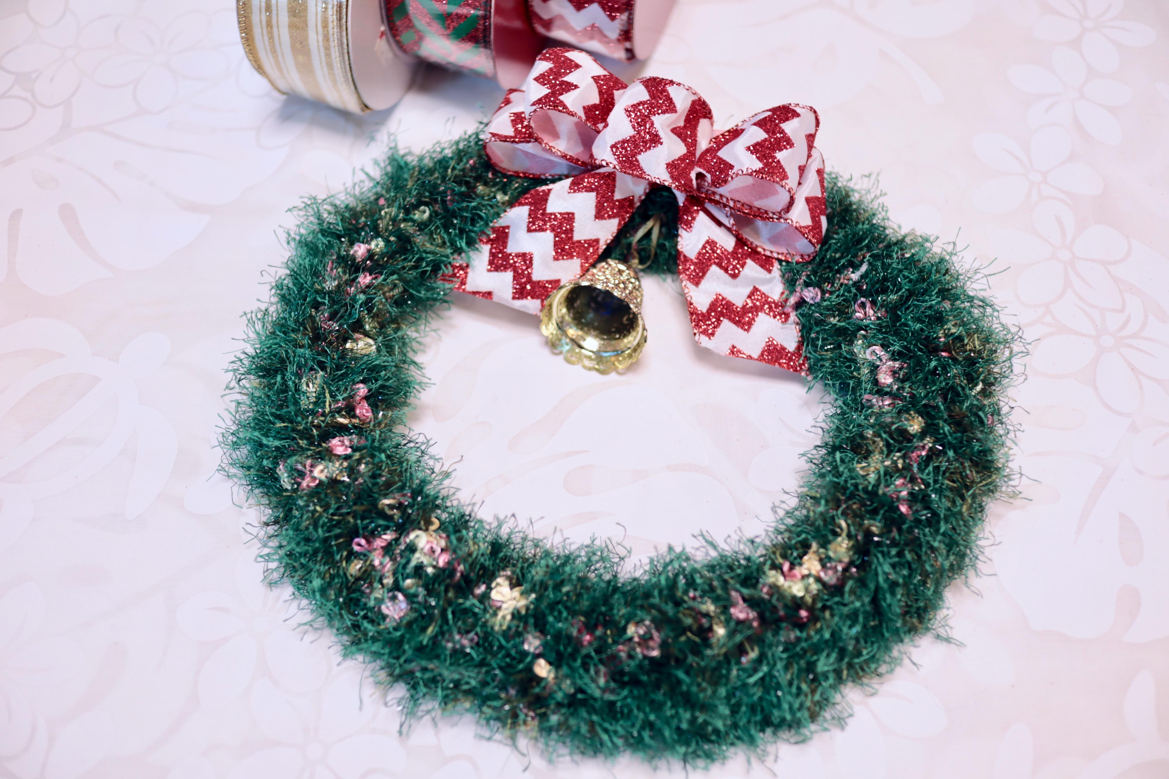 T.Y様 くるくるクリスマスリース